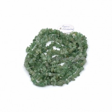 Green Aventurine Chips Stone Necklace