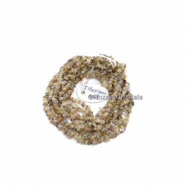Ithopiyen Opal Chips Stone Necklace