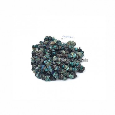 Chrysocolla Stone Chips Necklace