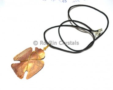 Eagle Arrow Agate Necklace