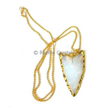 Oplaite V Shape Electroplated Necklace