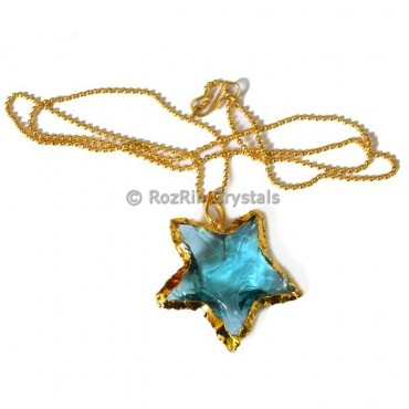 Star Electroplated Necklace