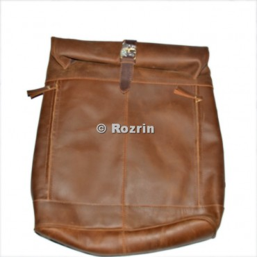 BUFF LEATHER ROLL PITTY BACK PACK  BAG