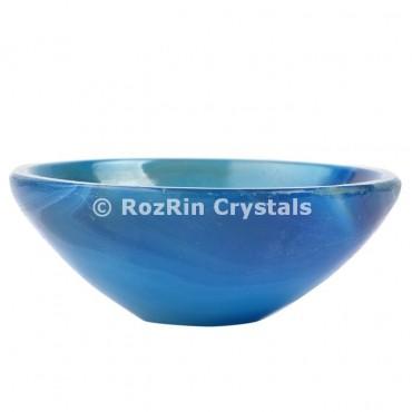 Blue Onyx Bowl