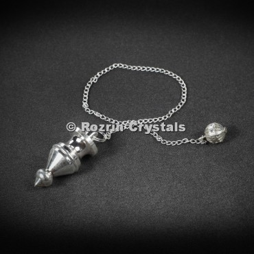 Brass Silver Dowsing Style 1 Pendulums
