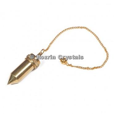 Brass Metal Pencil Point Pendulums