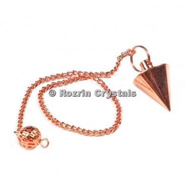 Brass Copper Cone Pendulums