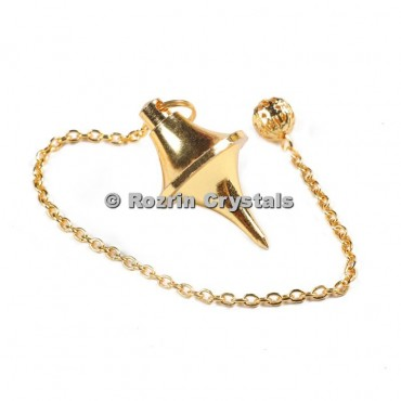 Brass Gold Pointed Pendulums