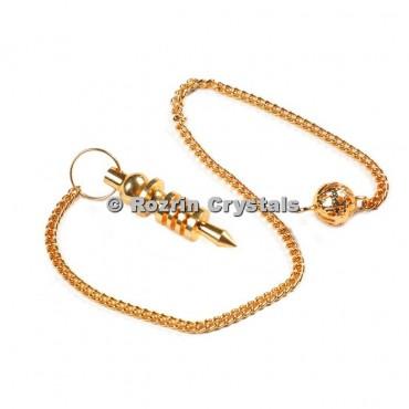 Brass Gold Isis Pendulums