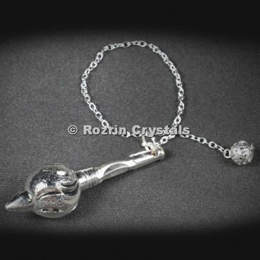 Metal Silver Gada Pendulums