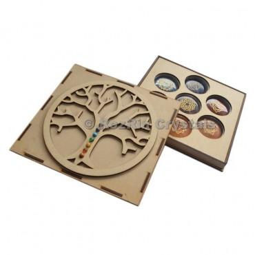 Tree Of Life Seven Chakra Gift Box