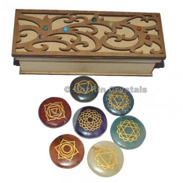 Chakra Fancy Design  Gift Box Brown