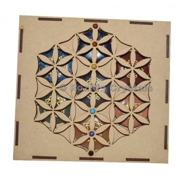 Chakra Flower Of Life Gift Box