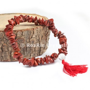 Red Jasper Chips Power Bracelets