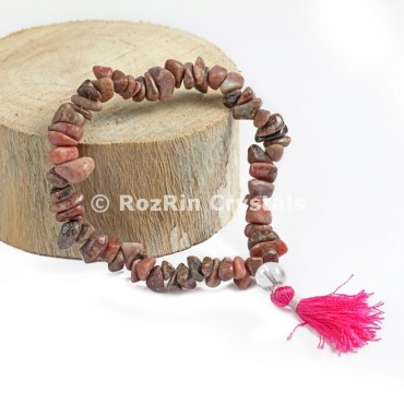 Rhodonite Chips Power Bracelets