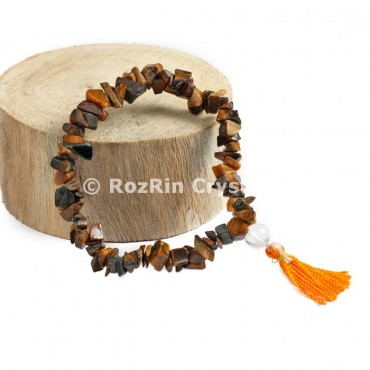 Tiger Eye Chips Power Bracelets