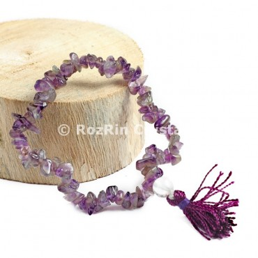 Amethyst Chips Power Bracelets