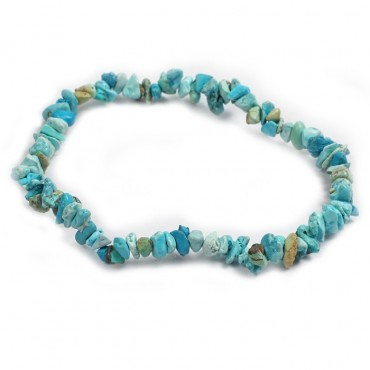 Turquoise Chips Power Bracelets