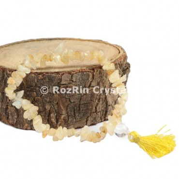Citrine Chips Power Bracelets