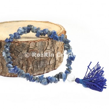 Sodalite Chips Power Bracelets