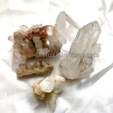 Crystal Quartz Clusters