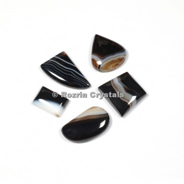 Banded Agate Cabochons