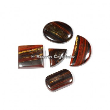 Iron Tiger Eye Cabochons