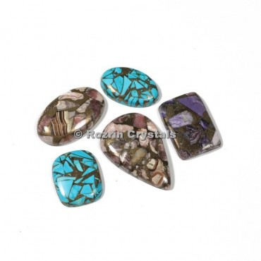 Mix Copper Cabochons