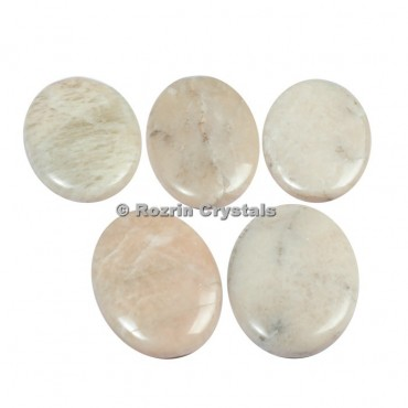 Cream Moonstone Cabochons