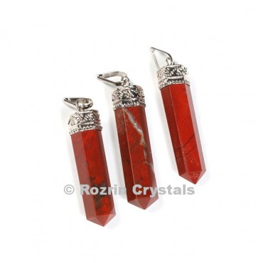 Red Jesper cap Pencil Pendant