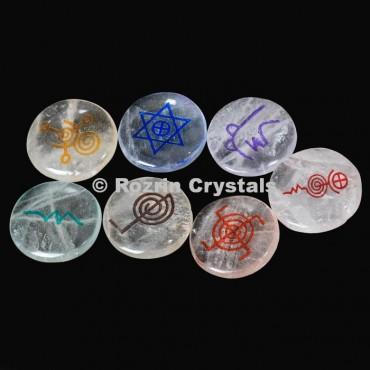 Crystal Chakra Reiki set