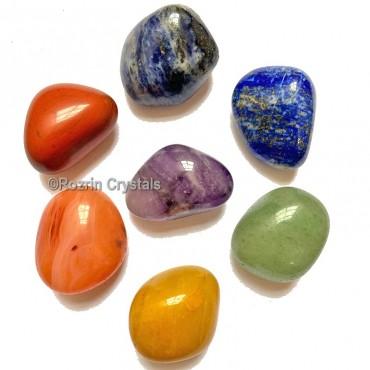 Chakra Tumbled Stone Set