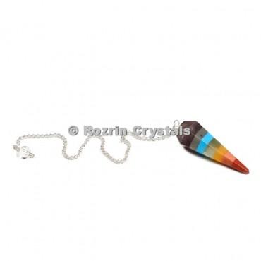 Chakra Bonded Pendulum With Turquise