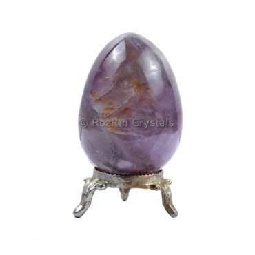 Amethyst Gemstone Egg