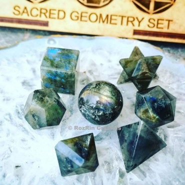 Lebrodrite Sacred Geometry set