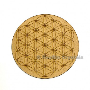 Flower of life Crystal Healing Grid