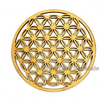 Flower of life Crystal Grid Altar Decor