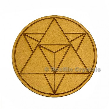 Star Metatron Crystal Healing Grid