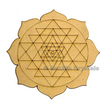 Shree yantra Healing Crystal Grid