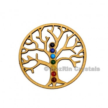 Tree of Life Chakra Crystal Grid