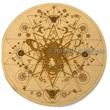 Bumble bee Crystal Grid