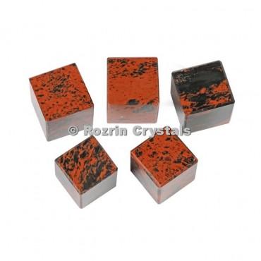 Mahagoni Obsidian Cube