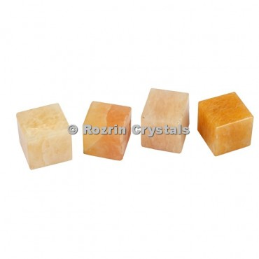 Yellow Aventurine Cube