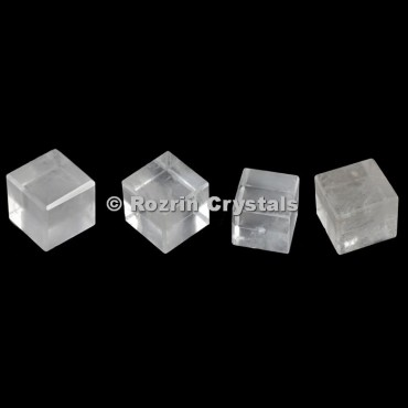 Crystal Quartz Cube