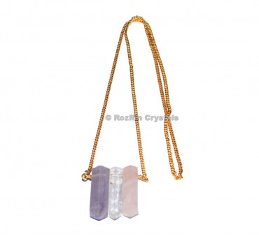 RAC Pendant with Golden Chain
