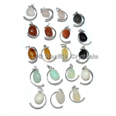 multi Gemstone Fancy Pendant