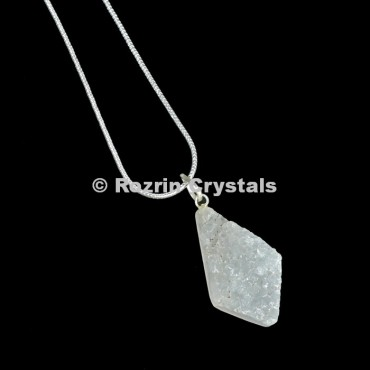 Crystal Druzy Arrow Pendants