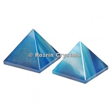 Blue Onyx Pyramid