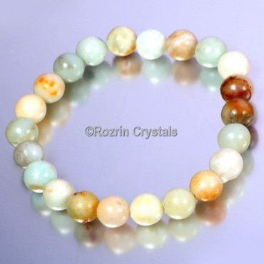Fancy Agate Gemstone Bracelet