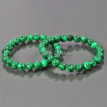 fancy Green Jade Gemestone Bracelet